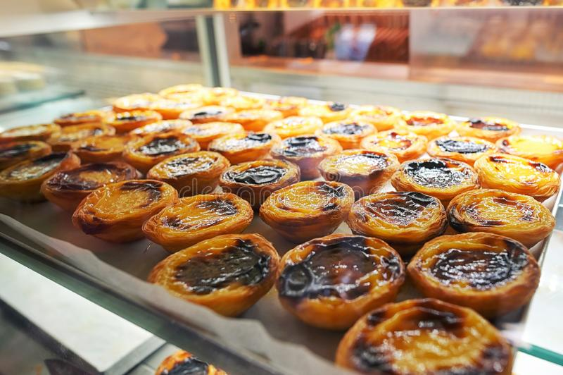 Portugisiska vaniljs?sTarts royaltyfri fotografi