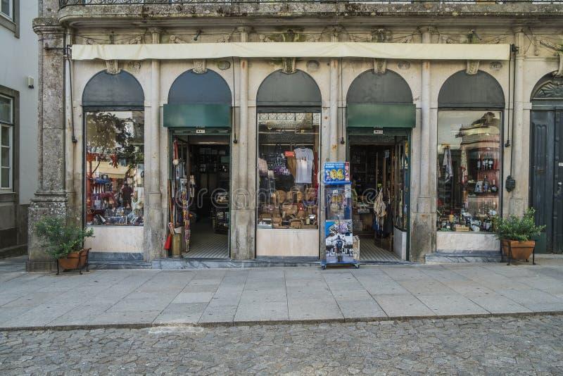 Portugisiskt gatalager arkivbild