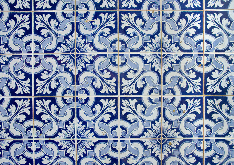 Portuguese azulejos royalty free illustration