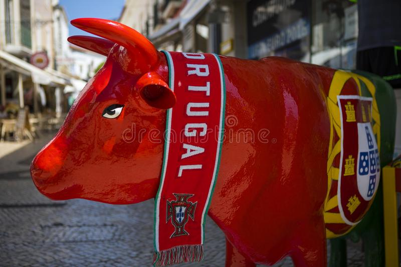 Portuguese Bull royalty free stock images