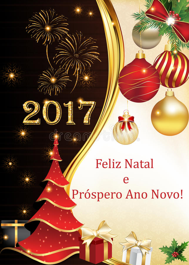 Portuguese business seasons greetings christmas new year card download portuguese business seasons greetings christmas new year card stock illustration m4hsunfo