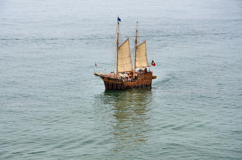 Download Portuguese Caravel Stock Images - Image: 27258424