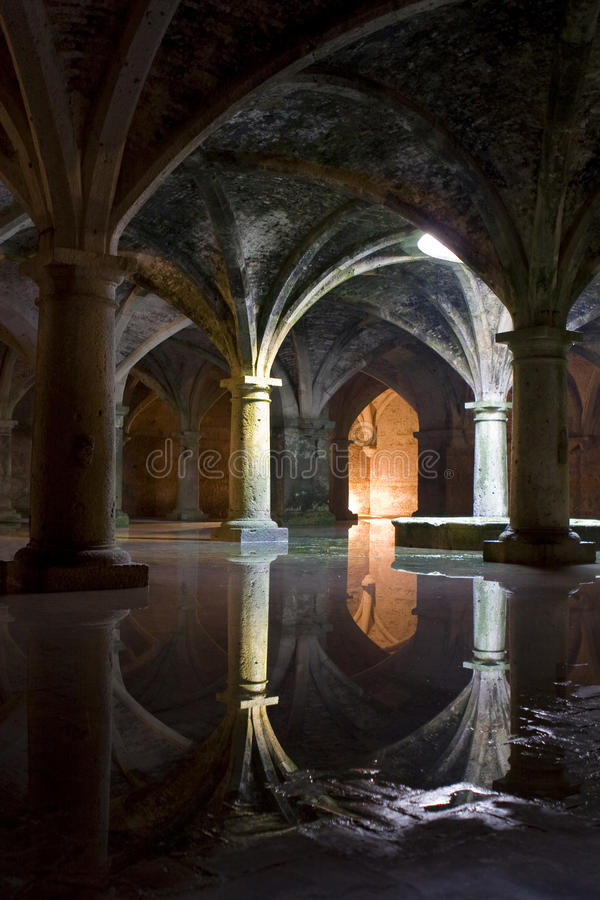 Portuguese Cistern stock image