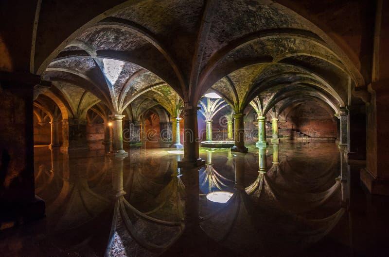 Portuguese Cistern in El Jadida, Morocco royalty free stock photos