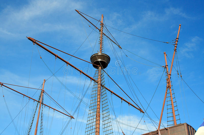 Download Portuguese Galleon stock photo. Image of sailboat, naval - 16255598