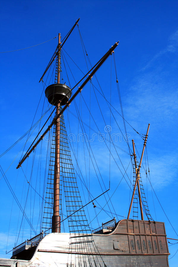 Download Portuguese Galleon stock photo. Image of craft, maritime - 16255668