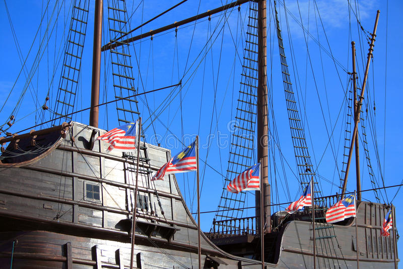 Download Portuguese Galleon stock image. Image of asian, vintage - 16570537