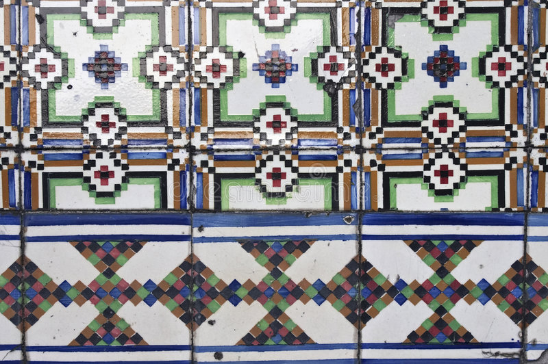 Download Portuguese glazed tiles stock photo. Image of packaging - 1453090