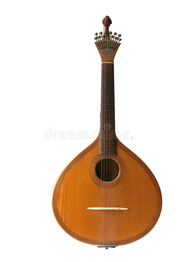 Portuguese guitar stock images