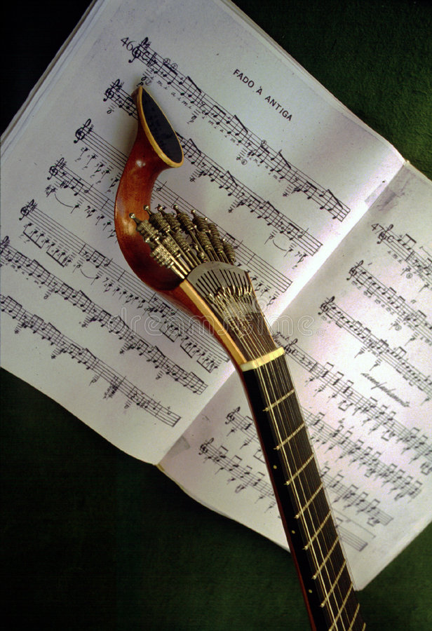 Portuguese Guitar royalty free stock photo