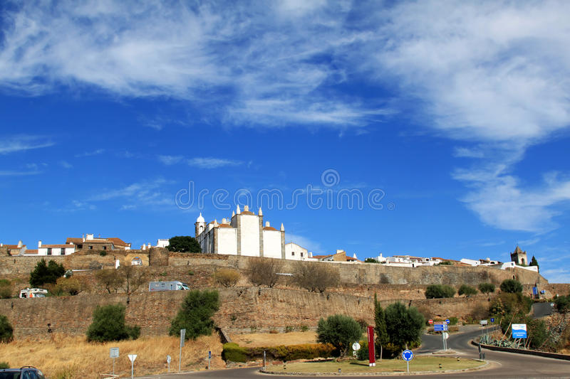 Download Portuguese Historical Fortress Of Monsaraz Editorial Photography - Image of historical, building: 22008922