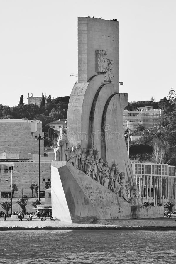 Portuguese Monument royalty free stock photos