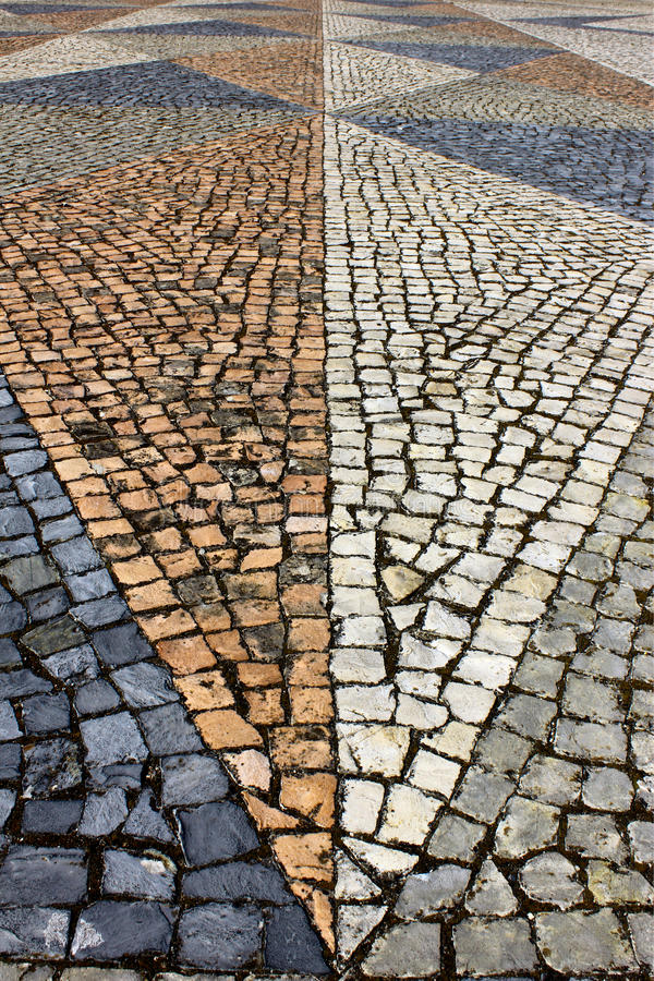 Download Portuguese Pavement stock photo. Image of capital, downtown - 26579834