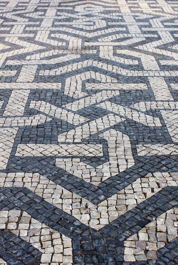 Download Portuguese Pavement stock photo. Image of brazilian, design - 26598924
