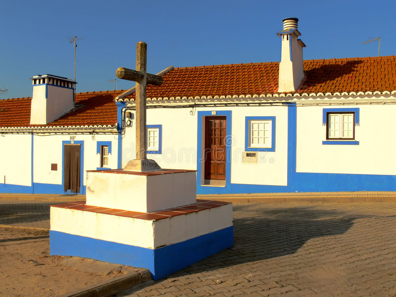 Download Portuguese Street (c) stock photo. Image of buildings - 1745744