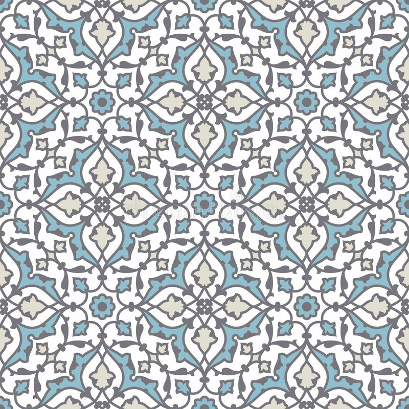 Portuguese tile vector pattern royalty free stock image