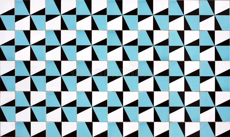 Portuguese tiles. Old tiled Background, portuguese ajulejos stock image