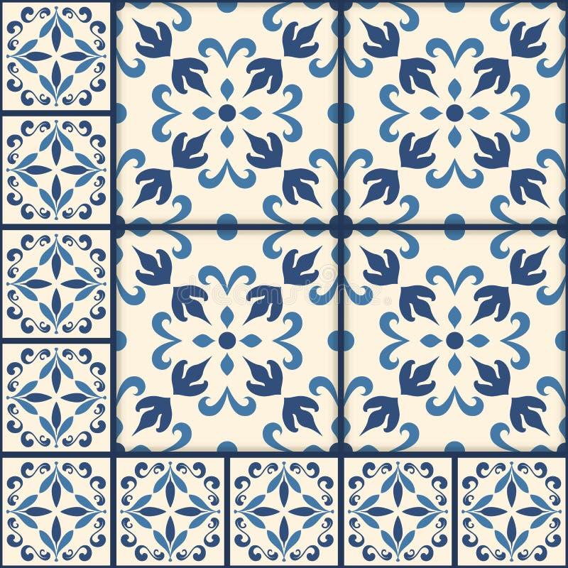 Set Of Arabesque Seamless Patterns, Floor Pattern, Mandala, Pattern