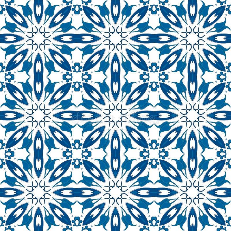 Portuguese tiles royalty free illustration