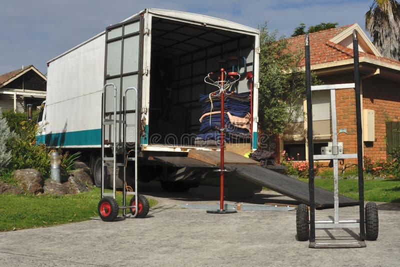 poruszająca ciężarówka obrazy royalty free