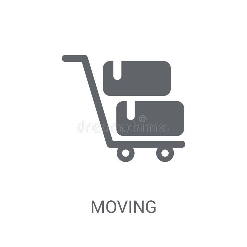 Poruszająca ikona  ilustracji