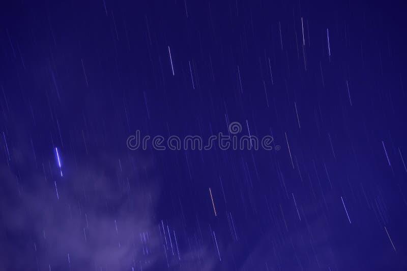 poruszające gwiazdy obrazy stock