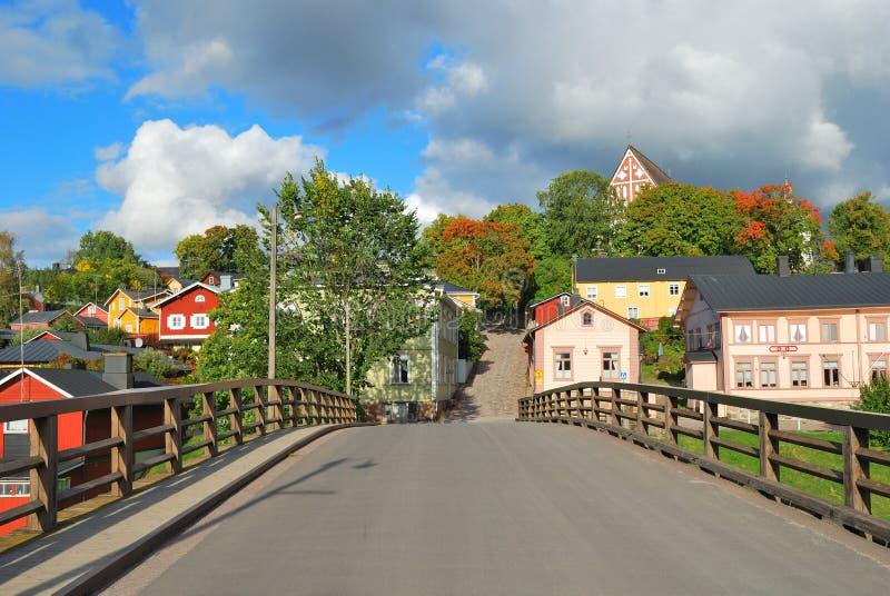 Porvoo,芬兰 库存照片