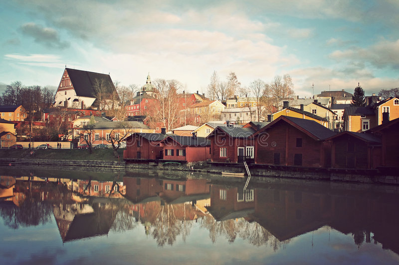 Download Porvoo stock image. Image of wooden, porvoo, porvo, travel - 4989213