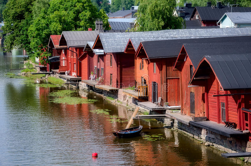 Porvoo Finland. fotografering för bildbyråer