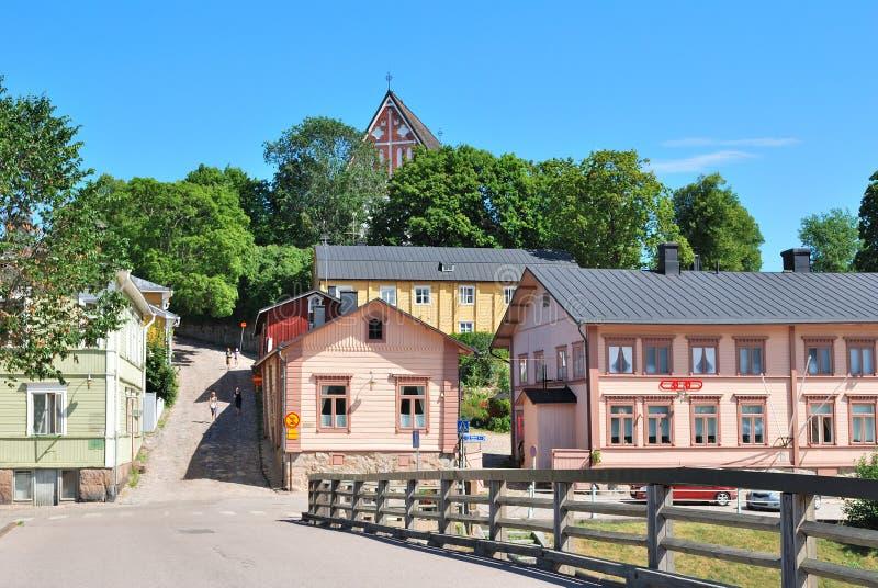 Porvoo, Finlandia immagini stock libere da diritti