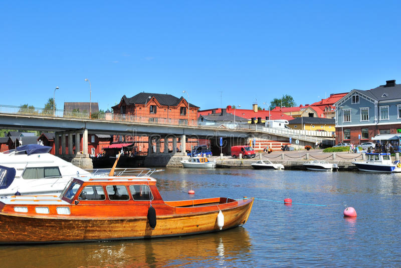 Porvoo, Finnland lizenzfreie stockfotos