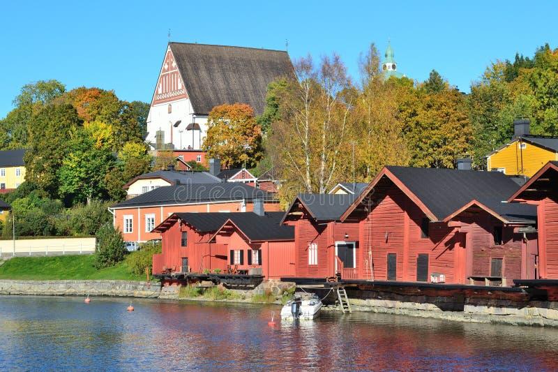 Porvoo, Finnland lizenzfreie stockfotografie