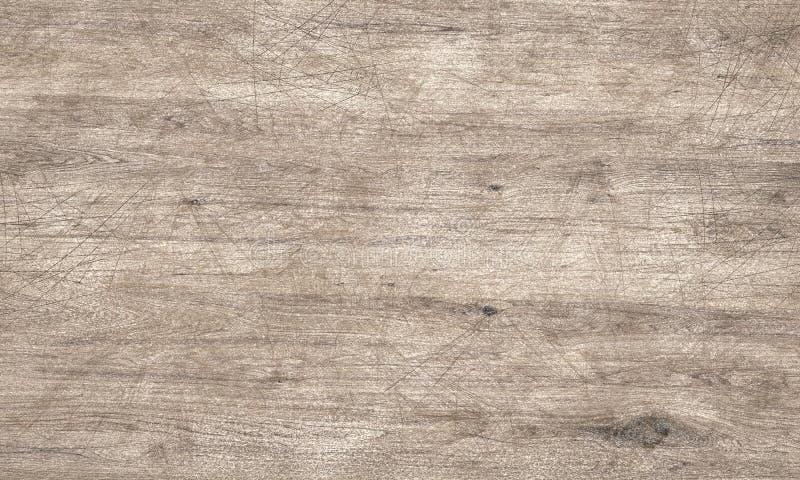 Porysowana drewniana tekstury 3D ilustracja ilustracji