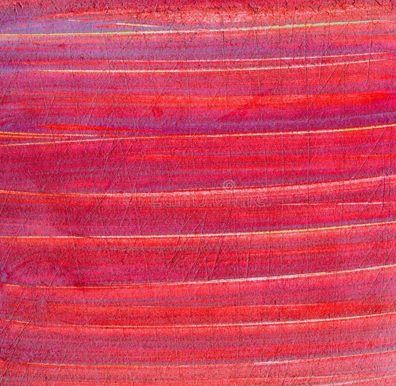 Porysowana grunge powierzchnia czerwona stara papierowa tekstura obrazy royalty free