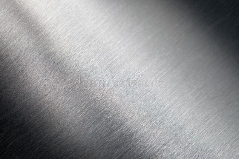 Porysowana metal powierzchnia fotografia stock