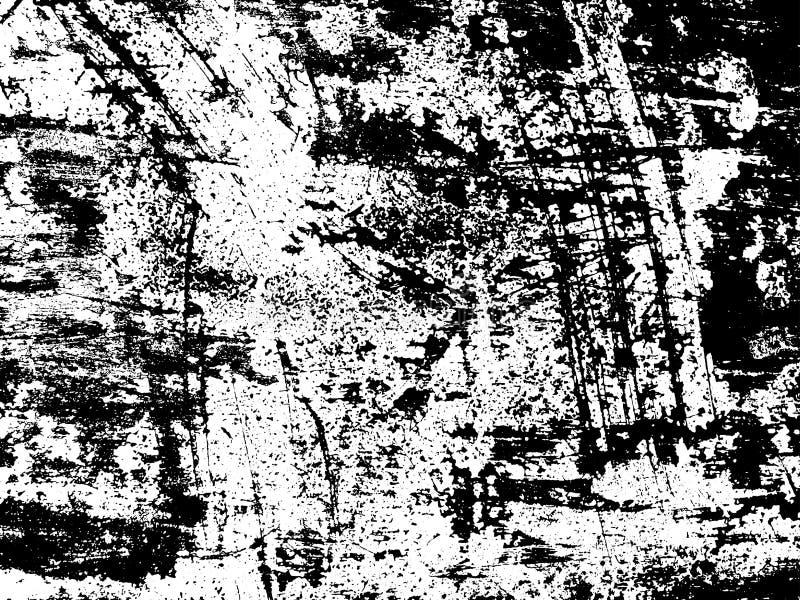 Porysowana tekstury narzuta Wektorowy tło ilustracja wektor