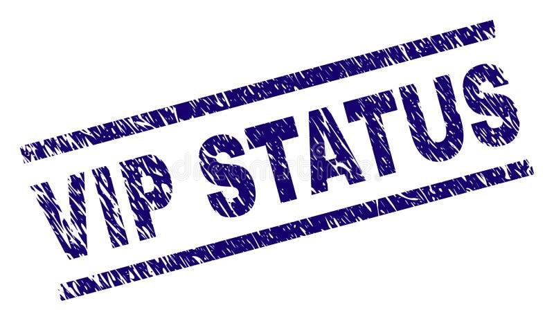 Porysowana Textured VIP statusu znaczka foka ilustracji