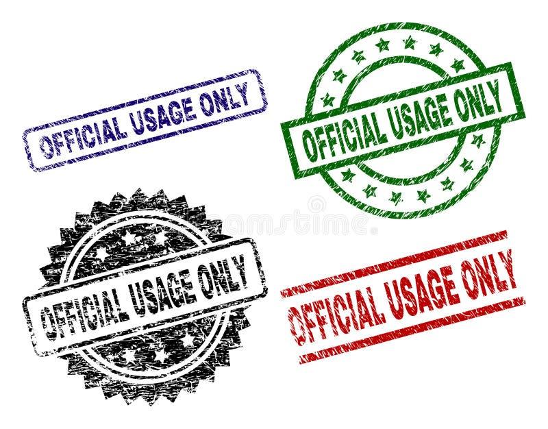 Porysowani Textured OFICJALNI użycie foki znaczki TYLKO ilustracji