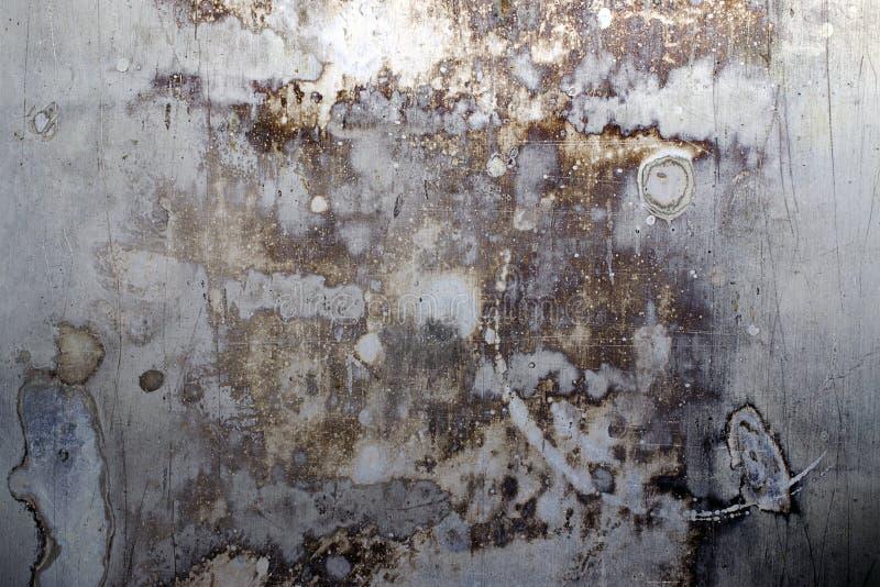 Porysowany i Pobrudzony metal tekstury tło zdjęcia royalty free