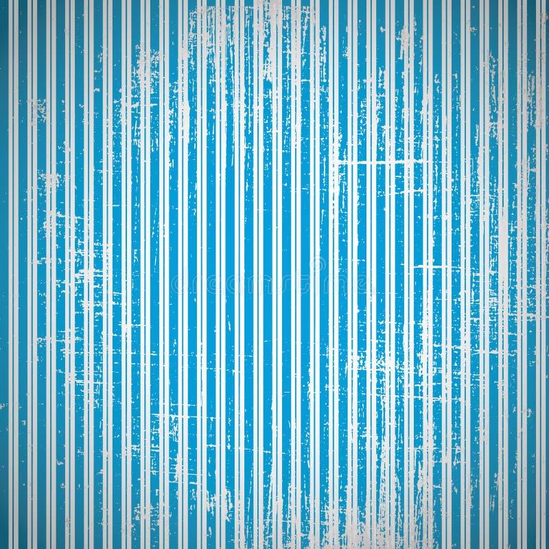 Porysowany wektorowy retro tło. Uszkadzający rocznika wektoru wallpa royalty ilustracja