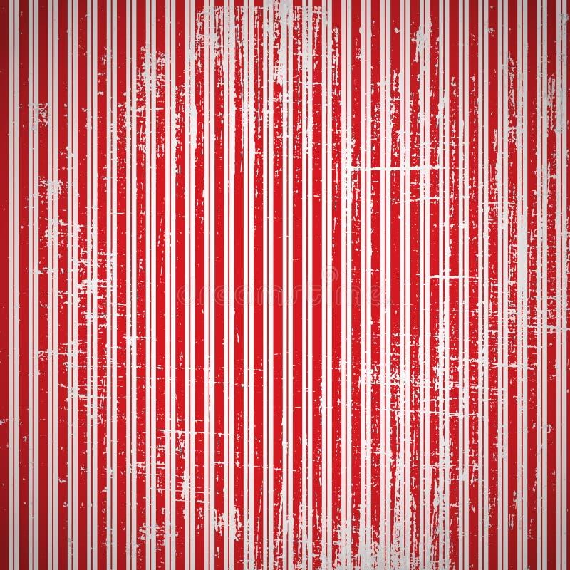 Porysowany wektorowy retro tło. Uszkadzający rocznika wektoru wallpa ilustracji