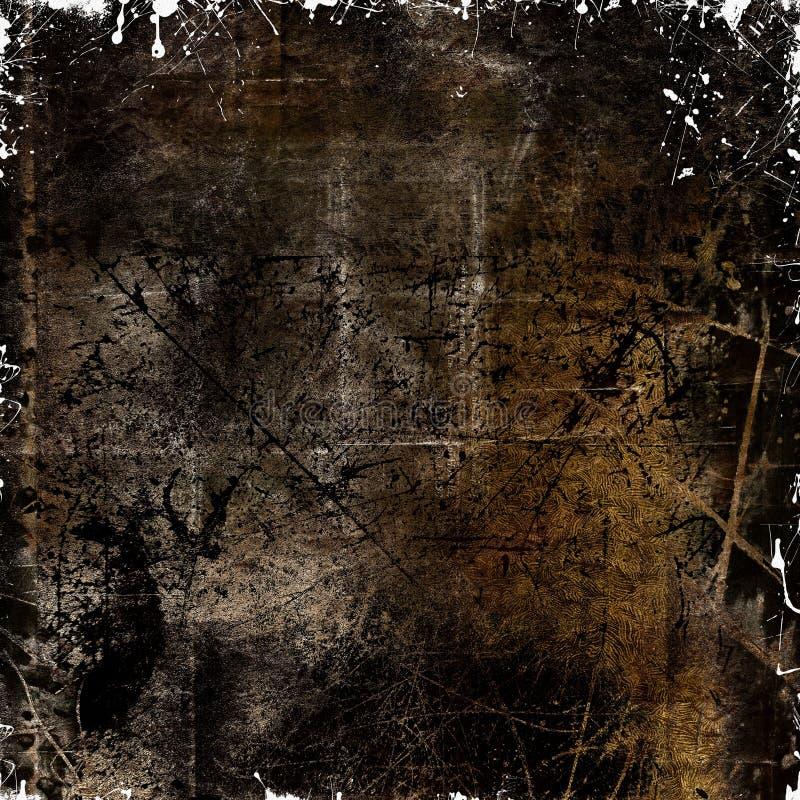 Porysowany zmroku tło ilustracji
