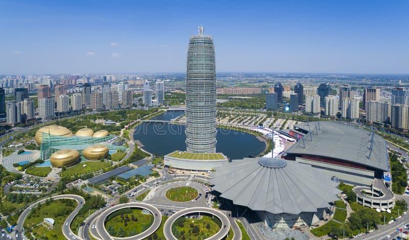 Porzellan Zhengzhous Henan lizenzfreie stockbilder