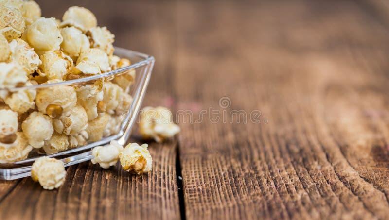 Porzione di popcorn fotografia stock