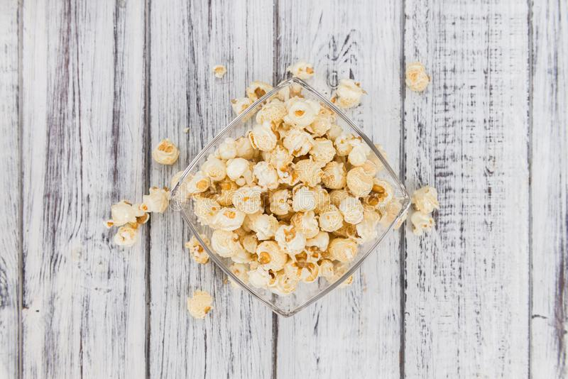 Porzione di popcorn fotografia stock libera da diritti