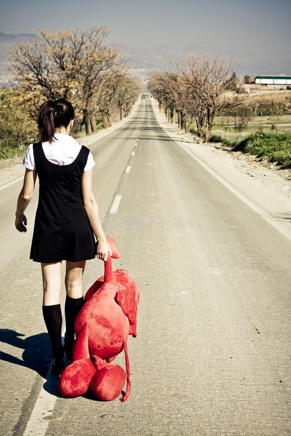 porzuconej dziewczyny zdjęcia stock