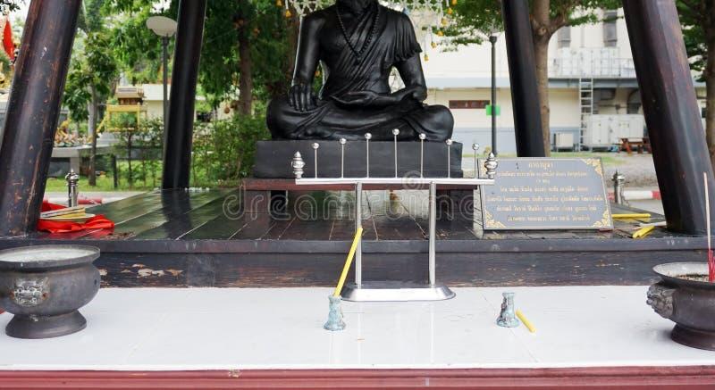 posąg buddy ręce fotografia stock
