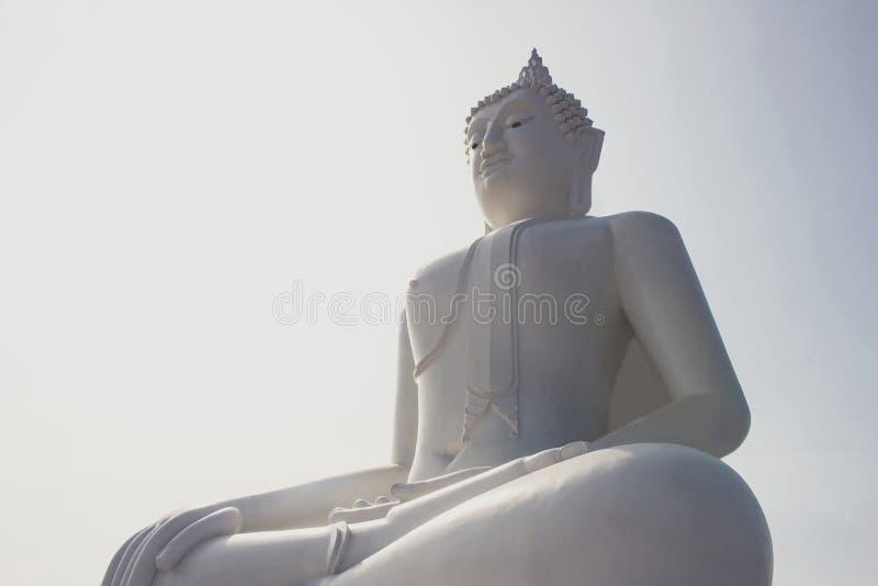 posąg buddy Thailand obraz royalty free
