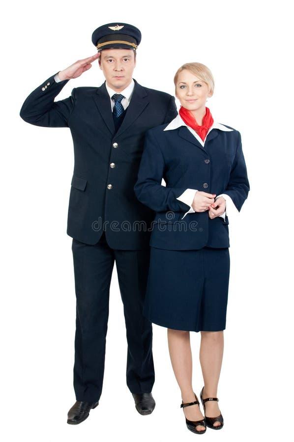 posługacza lot dwa obraz stock