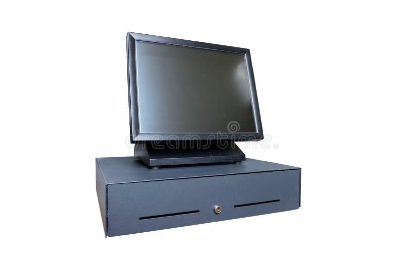 POS wszystko w jednym komputer zdjęcie stock